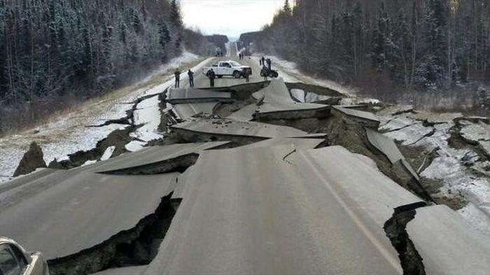 انسان و زمینلرزه