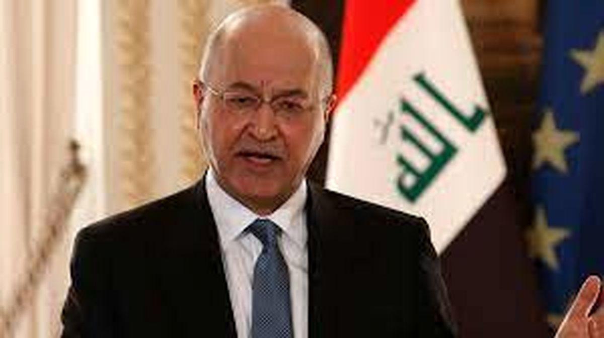 برهم صالح: مذاکرات بین ایران و عربستان پیشرفت خوبی داشته است