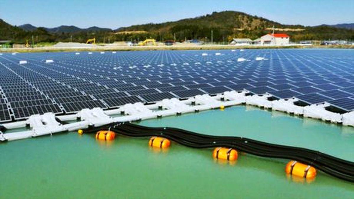 نیروگاههای خورشیدی شناور یک راه حل مناسب برای گذر از پیک مصرف برق