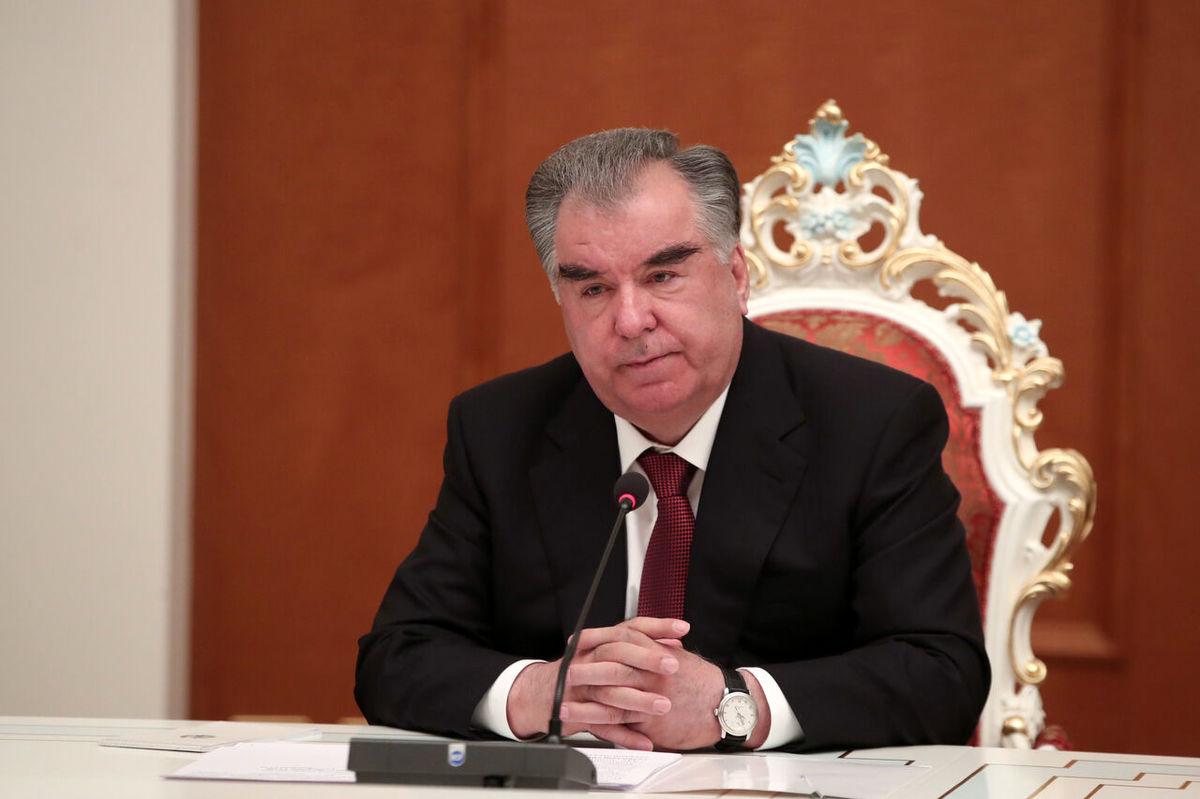رییس جمهوری تاجیکستان: سازمان ملل در مذاکرات افغانستان نقش کلیدی داشته باشد