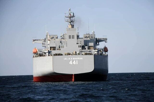 آمریکا به ناوگان دریایی ایران واکنش نشان داد