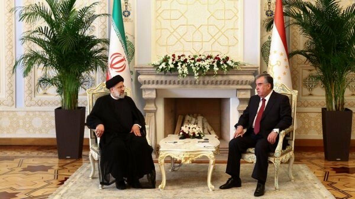 رئیسی: مقامات ایران و تاجیکستان روابطی همه جانبه بین دو کشور فارسی زبان  کنند