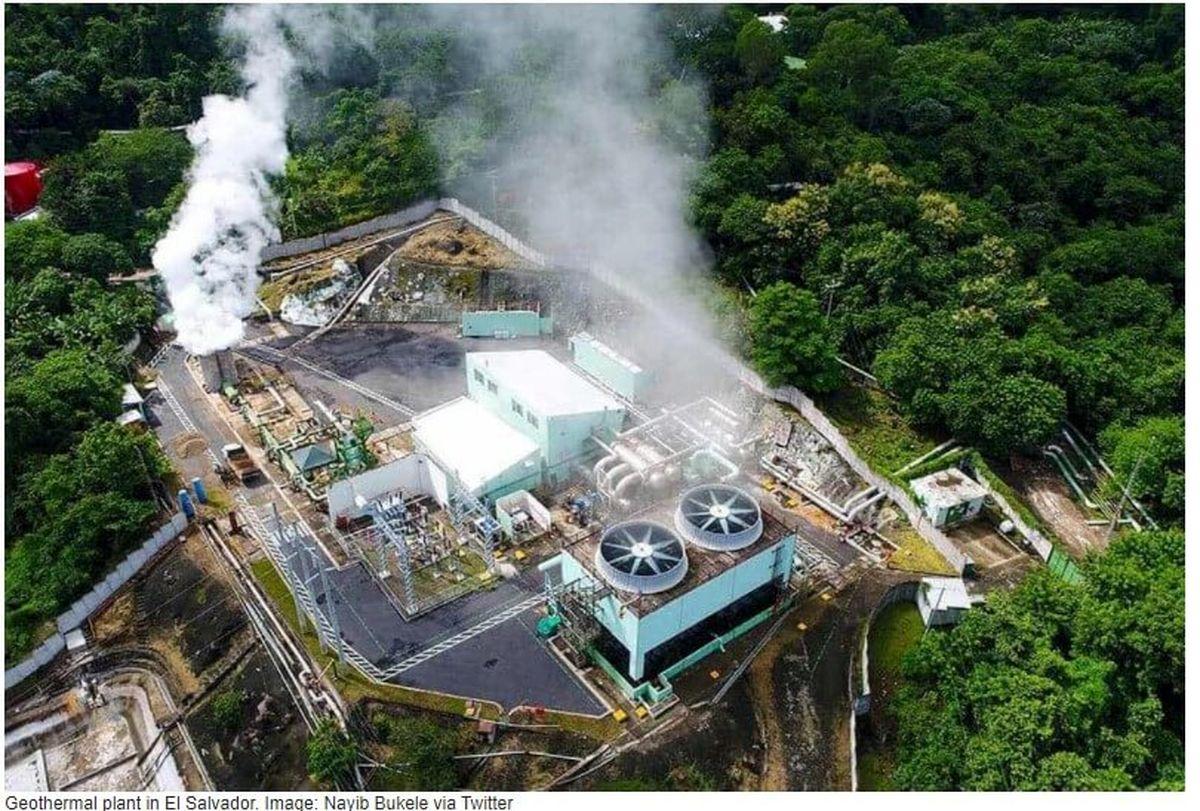 اولین مزرعه استخراج بیت کوین با انرژی آتشفشان