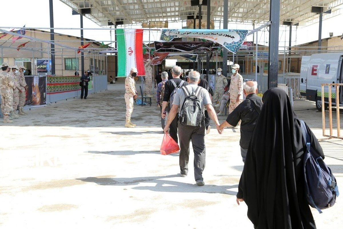 مثبت بودن تست پی سی آر پنج درصد زائران در ورود به مهران