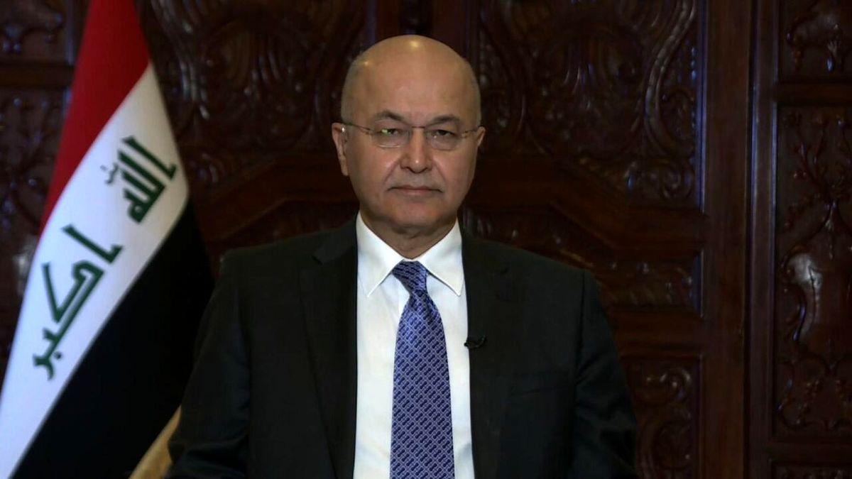 ابراز امیدواری برهم صالح نسبت به از سرگیری روابط ایران و عربستان
