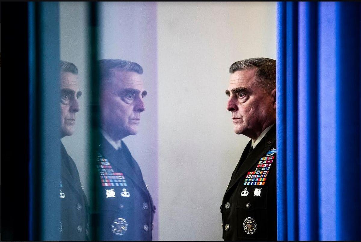 مارک میلی؛ ژنرال در هزارتویش