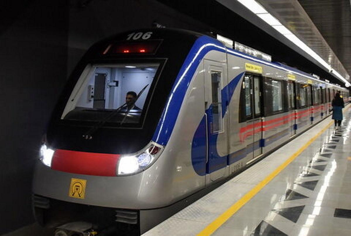 دو خط متروی تهران تا پایان سال ۱۴۰۱ راه اندازی می شود