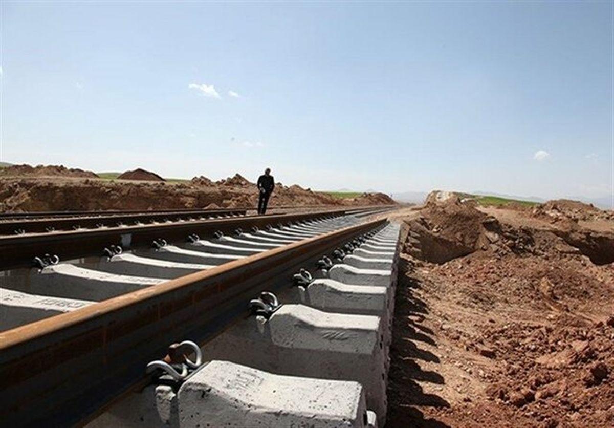 سرعت ساخت راهآهن ایران و عراق افزایش می یابد