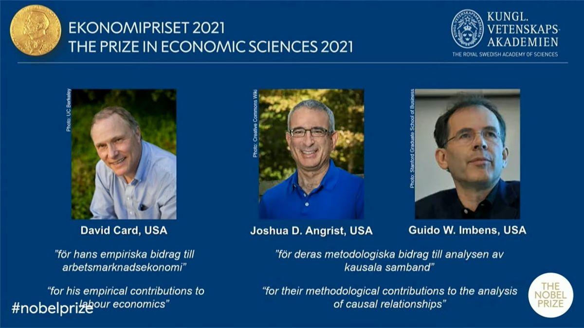 برندگان جایزه نوبل اقتصاد ۲۰۲۱ چه کسانی هستند؟